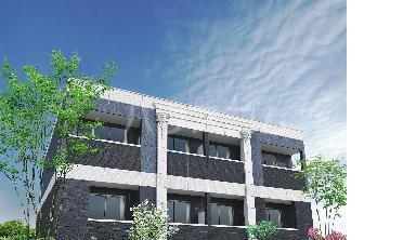 (仮称)水戸市見川5丁目新築アパート外観写真