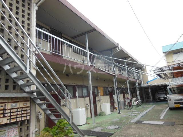 清水荘アパート外観写真