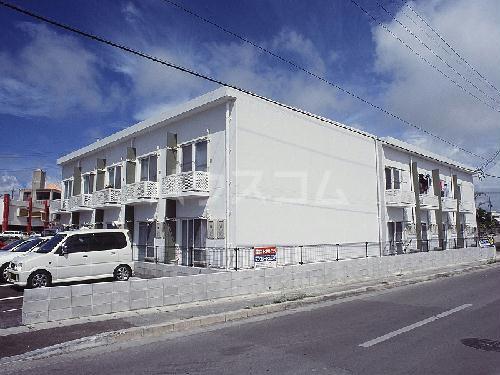 レオパレスMIYASATO外観写真