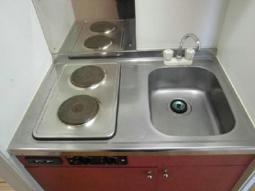 レオパレスJピア 204号室のキッチン