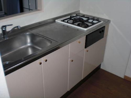 レオパレスほたる 105号室のキッチン