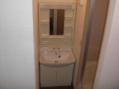 レオパレスほたる 105号室の洗面所