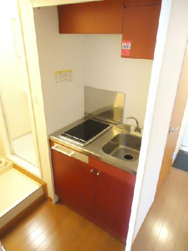 レオパレスTAKAHASHI Homes 203号室のキッチン