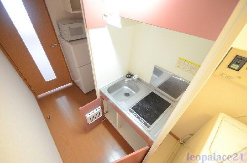 レオパレスマーレリリ 201号室のキッチン