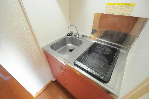 レオパレス銚子セカンド 110号室のキッチン