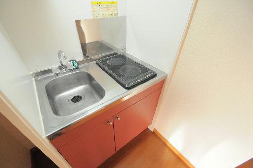 レオパレス銚子セカンド 207号室のキッチン