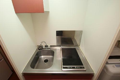 レオパレスリバーサイド室町 203号室のキッチン