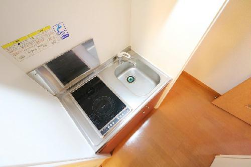 レオパレスDeer Field 205号室のキッチン