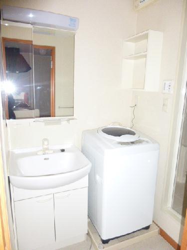 レオパレスエスト ヴィラ 110号室の洗面所