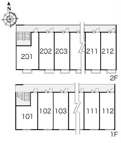 レオパレスプレミール 201号室のその他