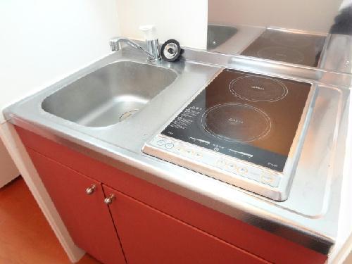 レオパレスパールアケノ第4 101号室のキッチン