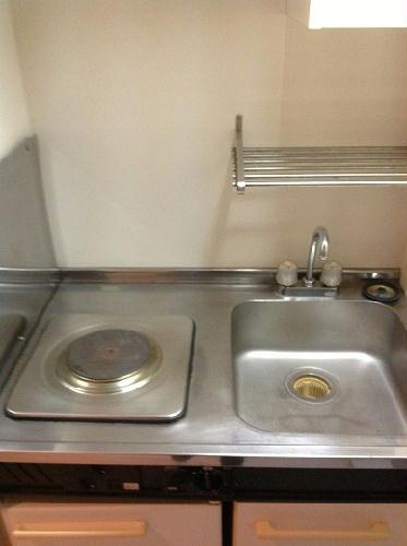 レオパレス西川田第1 103号室のキッチン