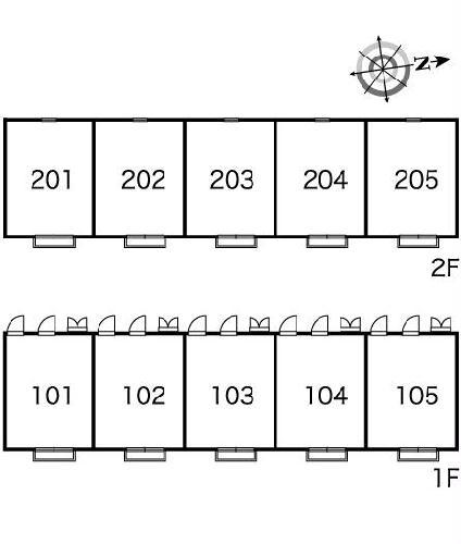 レオパレス88 202号室のその他