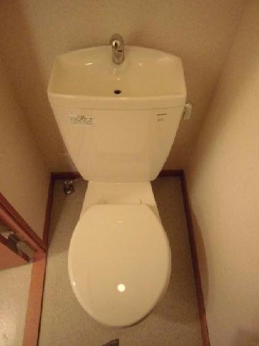 レオパレスサニースポット 107号室のトイレ