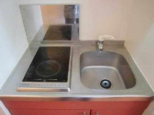 レオパレスサニースポット 107号室のキッチン