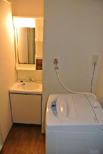 レオパレス戸祭2 104号室の風呂