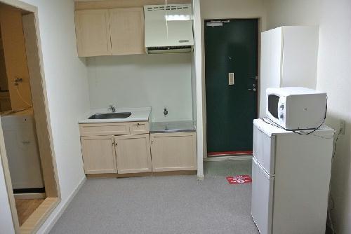 レオパレス戸祭2 204号室のキッチン