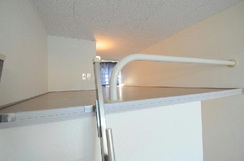 レオパレスフローラ 205号室の収納