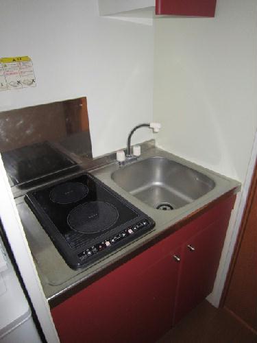 レオパレスハッピーヴィラ 103号室のキッチン