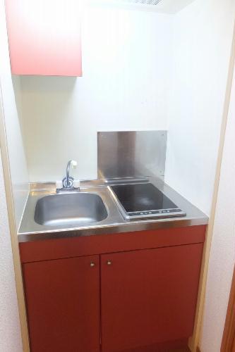 レオパレスユキコーポ77 208号室のキッチン