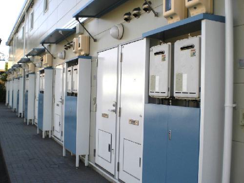 レオパレス幸田A 207号室の玄関