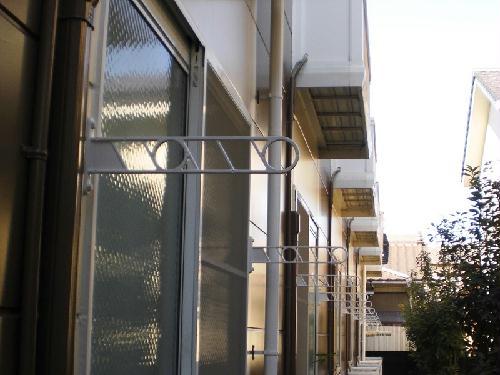 レオパレスフローラ 101号室のバルコニー