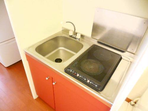 レオパレスkoyama 206号室のキッチン