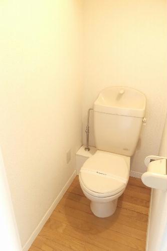 レオパレスひまわり 104号室のトイレ