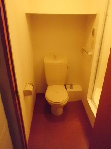 レオパレス野村 202号室のトイレ