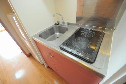 レオパレスKs 201号室のキッチン