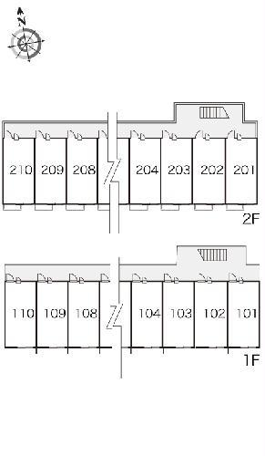レオパレス泉壱番館 103号室の駐車場