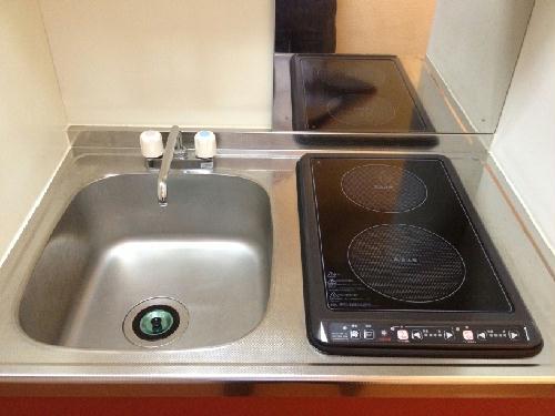 レオパレスラフェスタ 208号室のキッチン