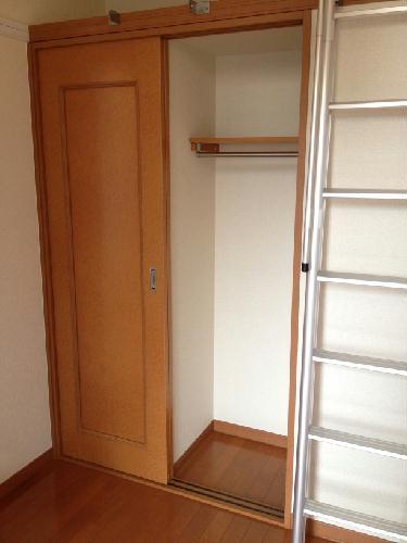 レオパレスラフェスタ 208号室の収納