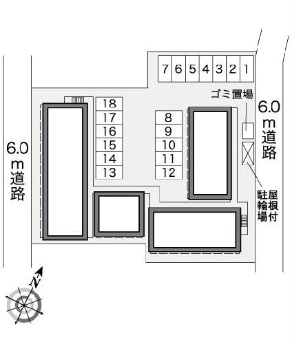 レオパレス五番町館 117号室のその他