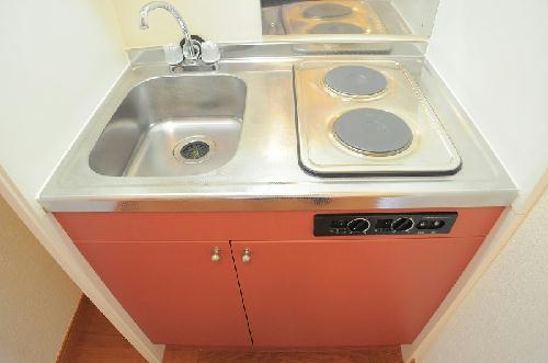 レオパレス飛鳥 常盤台 204号室のキッチン