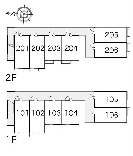 レオパレス飛鳥 常盤台 204号室のその他共有