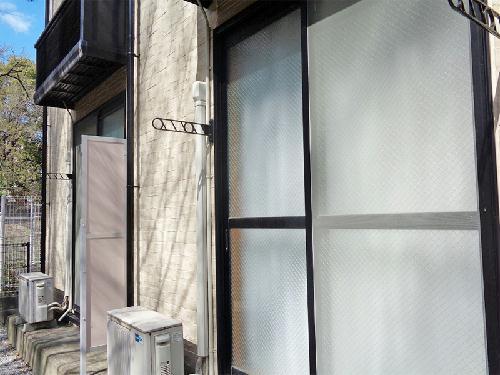 レオパレス飛鳥 常盤台 204号室のバルコニー