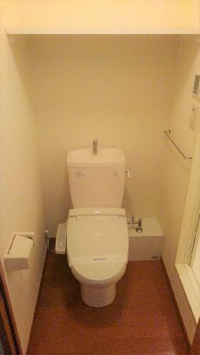 レオパレスレスポワール 204号室のトイレ