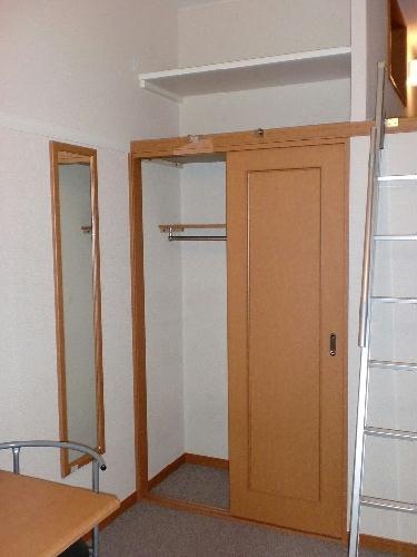 レオパレス四ツ木 302号室の収納