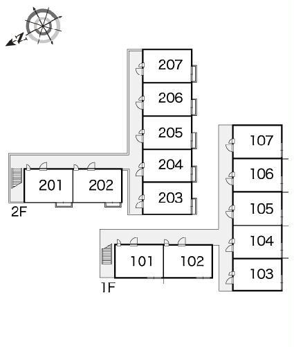 レオパレススアーブ 105号室のその他