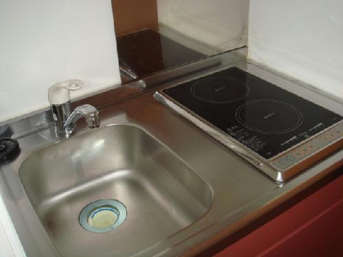 レオパレス森下 107号室のキッチン