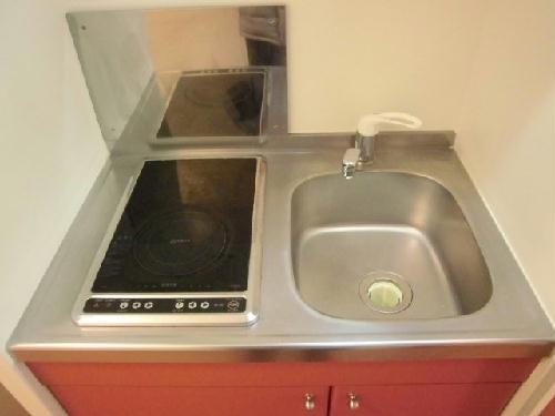 レオパレス雅Ⅲ 101号室のキッチン
