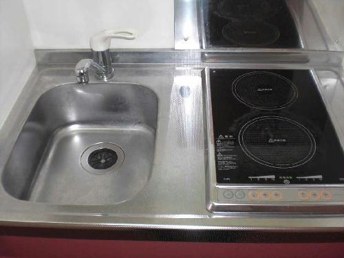 レオパレスエンボーダ 201号室のキッチン
