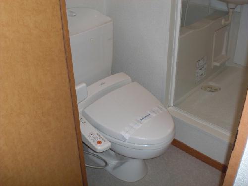 レオパレスマカービルシャナ 205号室のトイレ