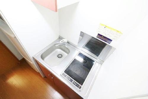 レオパレスアイリス 203号室のキッチン