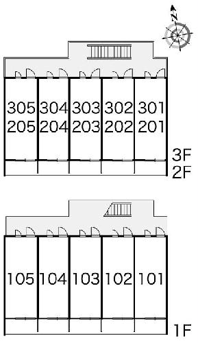 レオパレスアーバン 304号室のその他