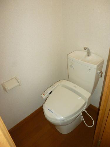 レオパレス光草 305号室のトイレ