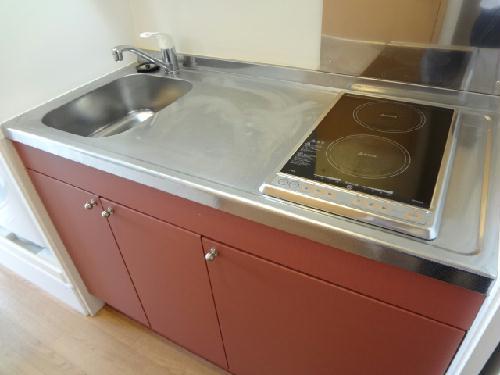 レオパレスYAHAGIⅠ 401号室のキッチン