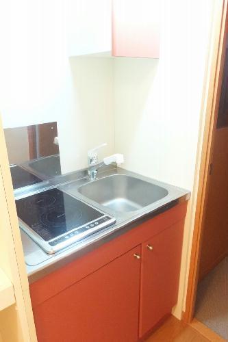 レオパレスミヤ 101号室のキッチン