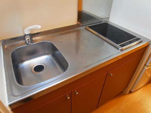 レオパレスサイレンスK 304号室のキッチン